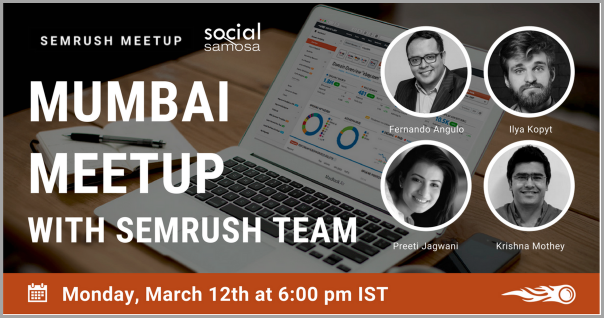 SEMrush uses Meetup.com