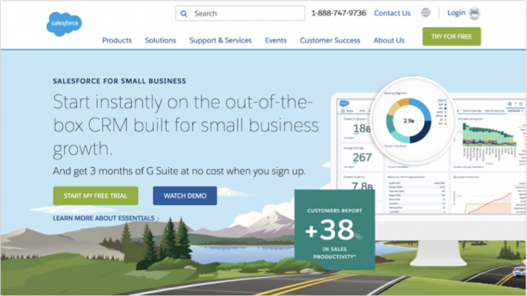 Grow your b2b company - Salesforce