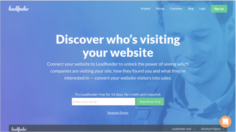 Grow your b2b company - leadfeeder
