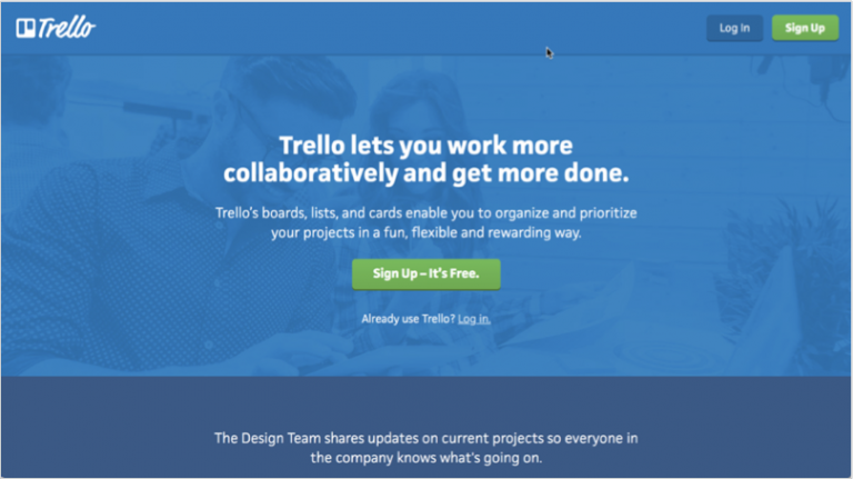 Grow your b2b company - trello