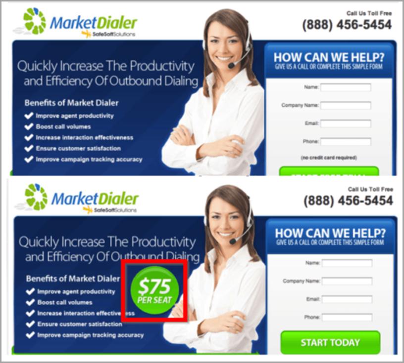 Market dialer
