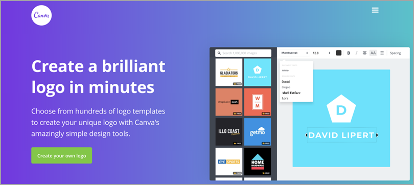 canva for logo design tools