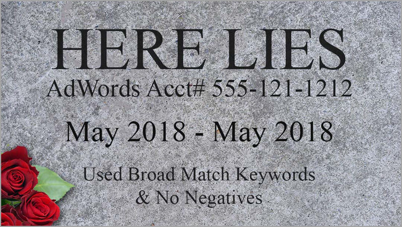 here lies for adwords features