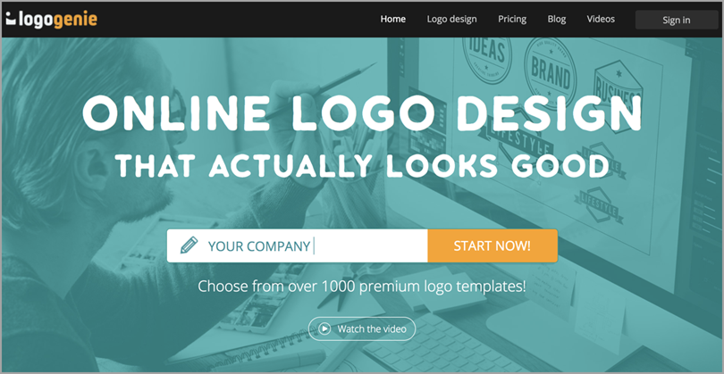 tailor brands for logo design tools