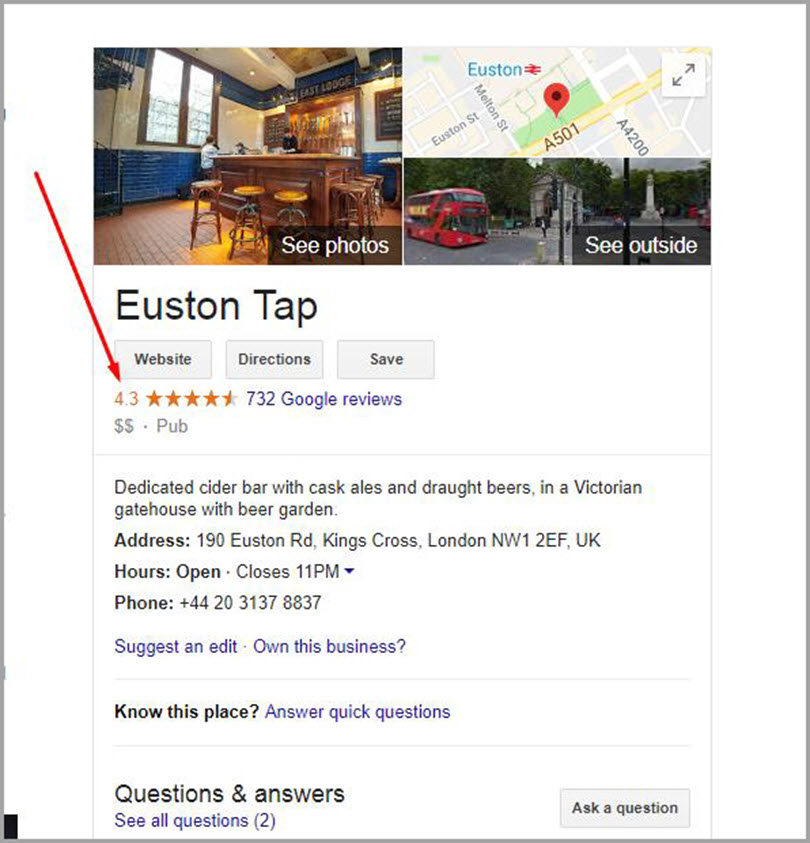 How to Get Reviews and Ratings on Google for SERP features