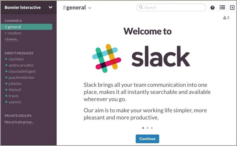 Intro to slack for slack communities for bloggers