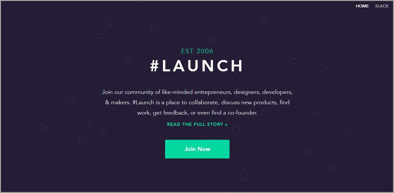 #Launch for slack communities for bloggers