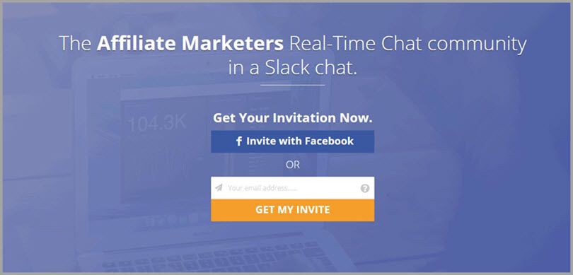 Marketers Chat for slack communities for bloggers