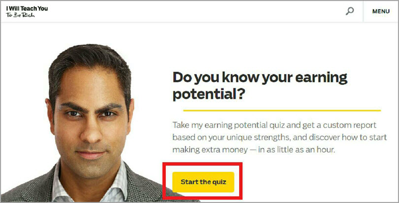 Offer relevant incentives for marketing quizzes