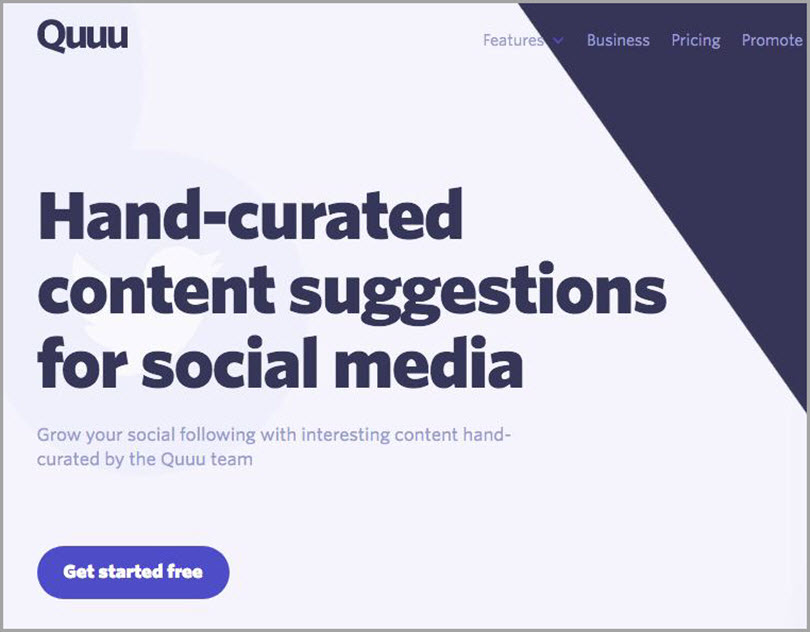 Quuu for content marketing budget