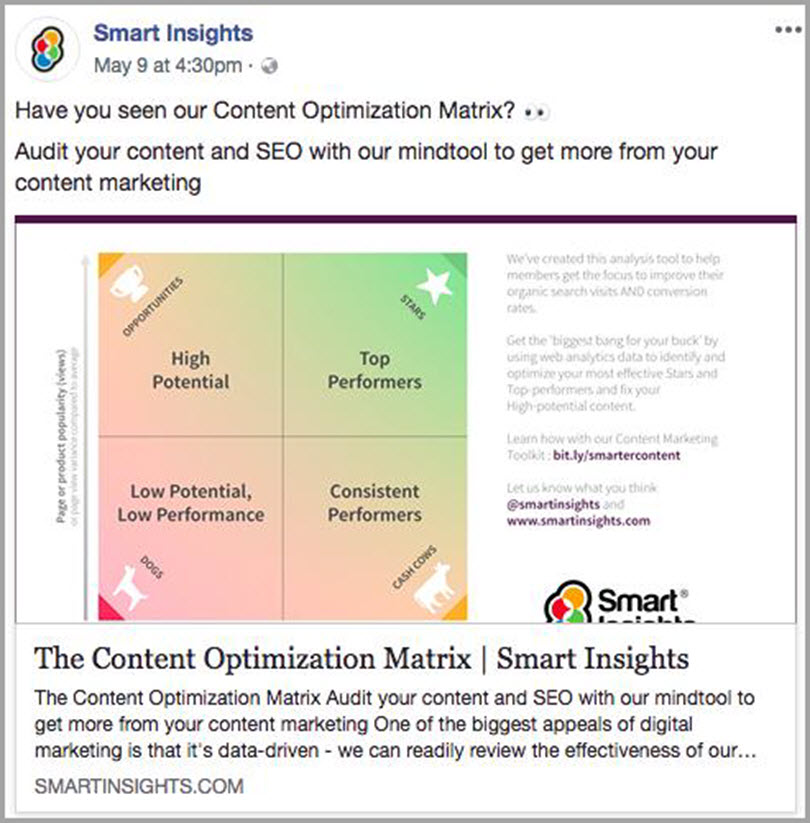 Use free and low-cost content promotion tools from the smart insights for content marketing budget