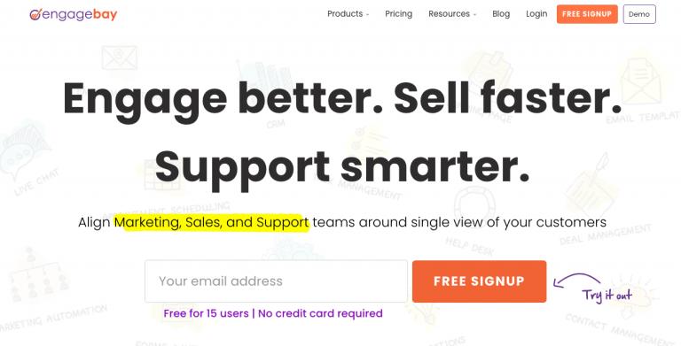 EngageBay - Digital Marketing Tool