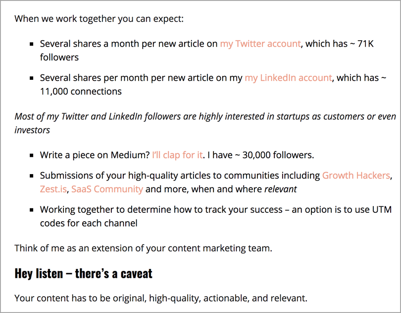 Hire a consultant for content promotion strategies