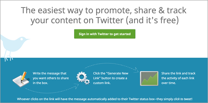 click to tweet for content promotion strategies
