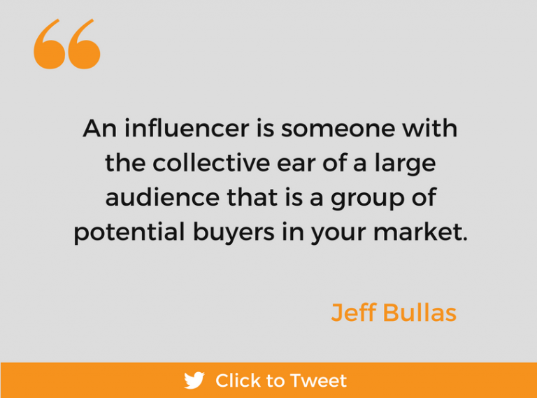 Social Media Influencers by Jeff Bullas