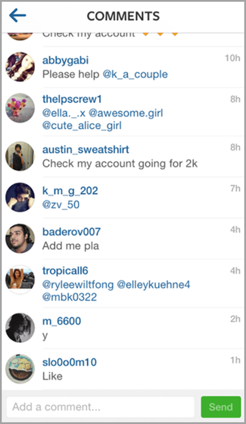Check the Quality of Engagement to check an influencer
