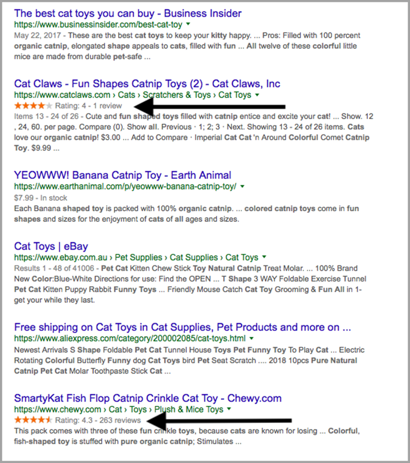 Make Reviews Part of Your Strategy for E-commerce Keyword Strategy