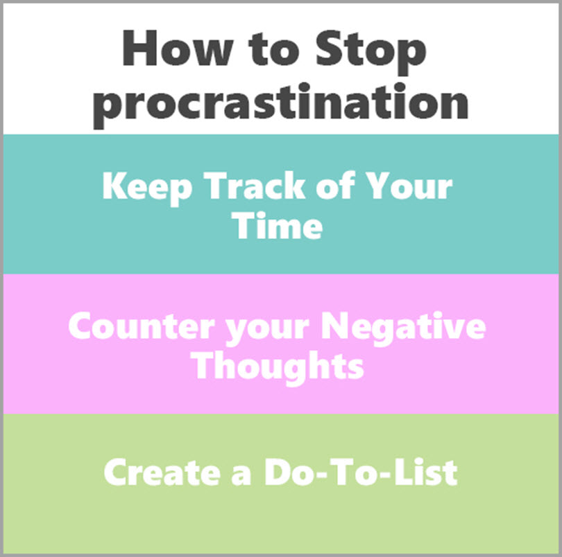 how to stop procrastination for overcome procrastination