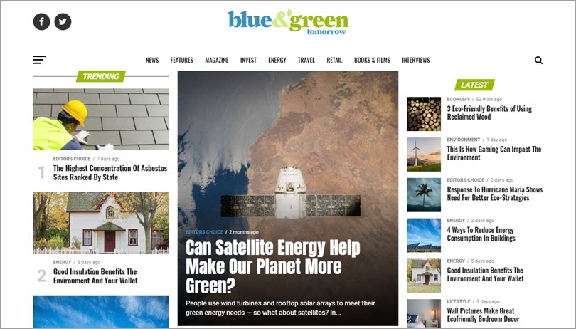 Color psychology Green like blue&green for color in web design