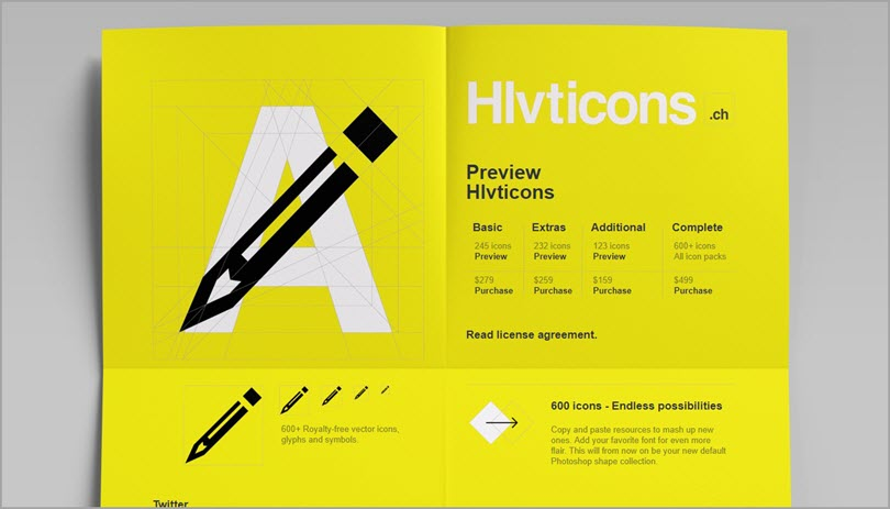 Color psychology Yellow like Hlvticons for color in web design