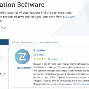 Registration software for event marketing strategy
