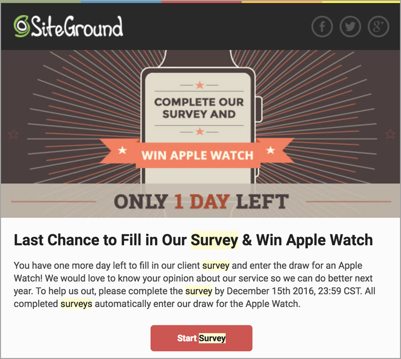 Siteground WordPress Ambassadors for survey data