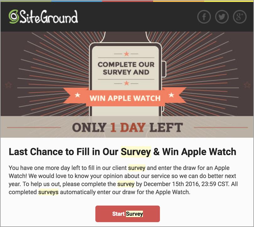 Siteground WordPress Ambassadors for survey data