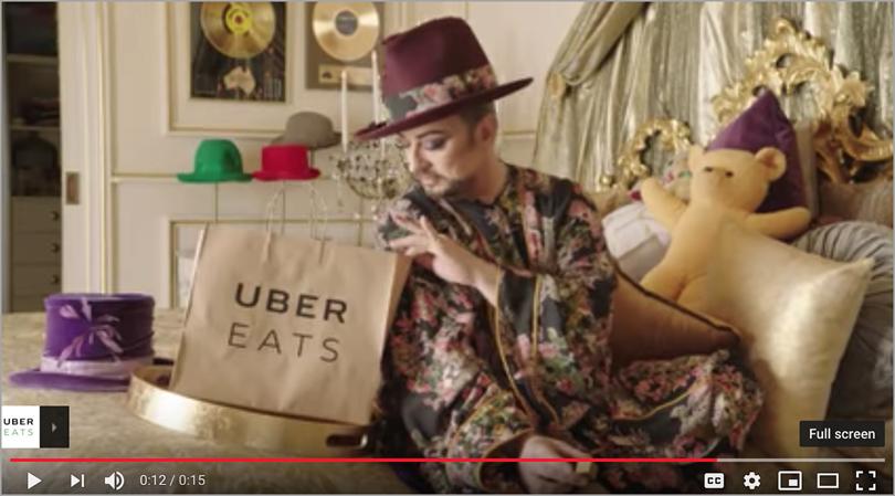 Uber 'Tonight I'll be eating...' for survey data