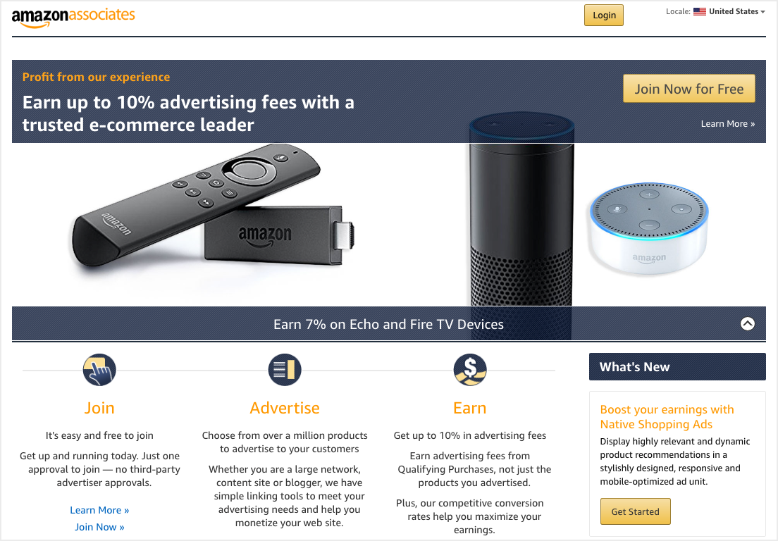 Affiliate Marketing like Amazon for Online Business