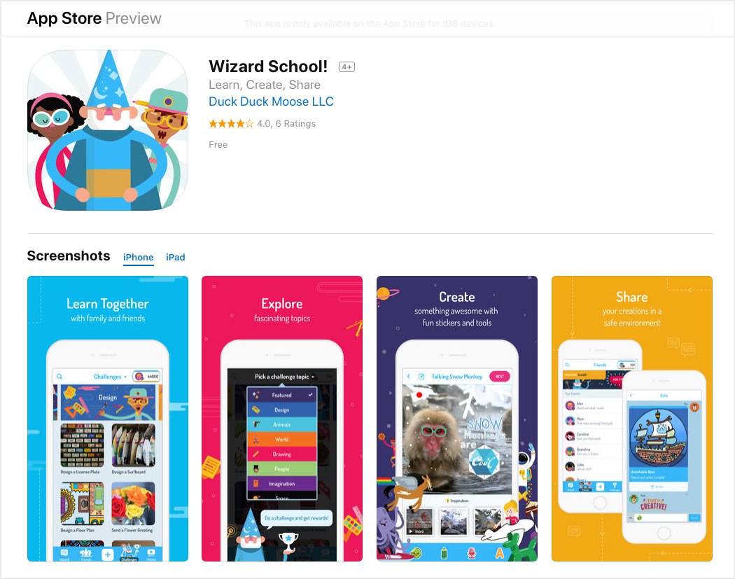 Children's Education like Wizard School for Online Business