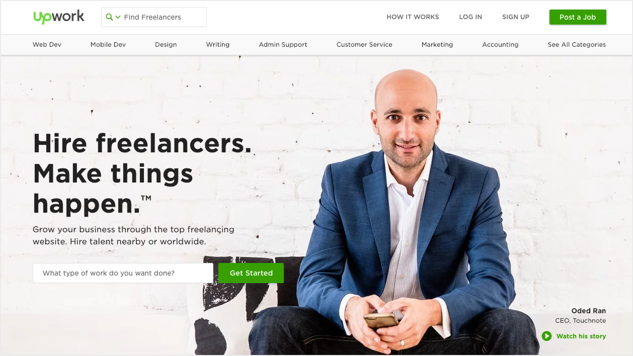 Freelancing like Upwork for Online Business