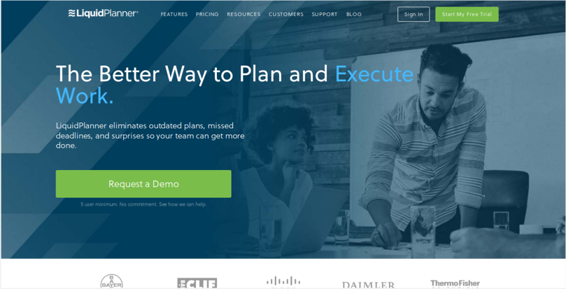 LiquidPlanner Online Project Management Software for Your Business