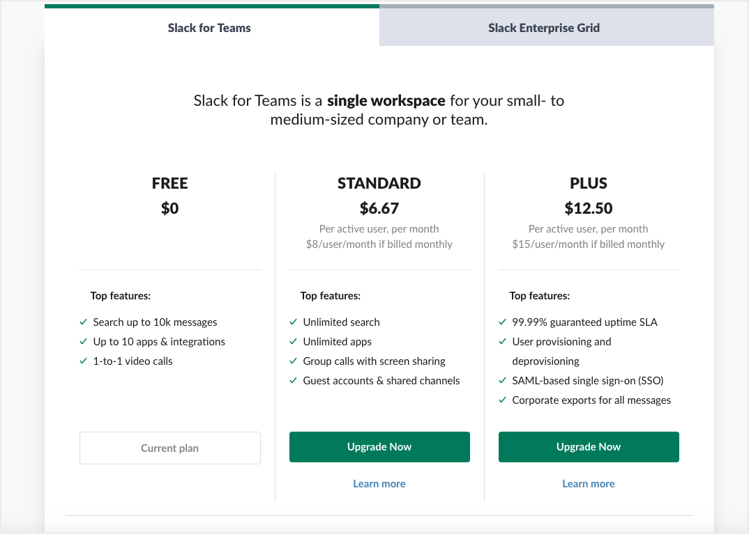 Software-as-a-Service (SaaS) like Slack for Online Business