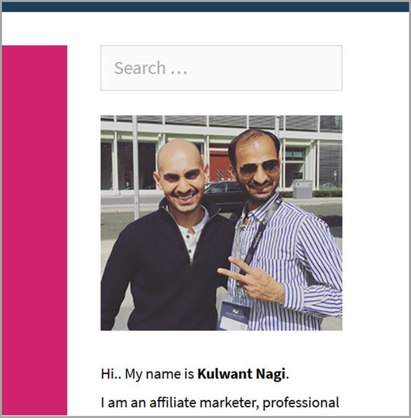 Upload the right image like Kulwant Nagi from Blogging Cage for increase authority