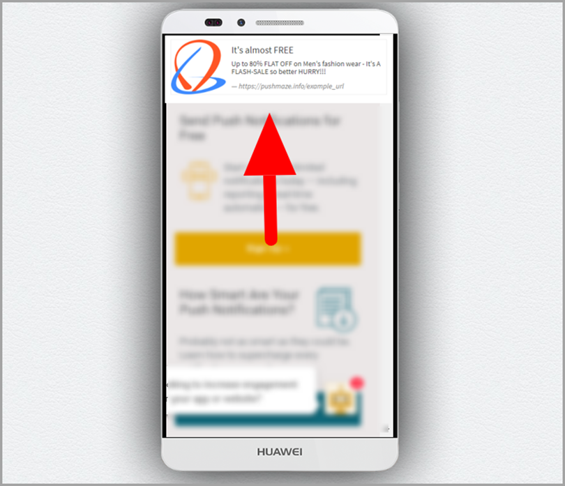 push notification services for push notification marketing