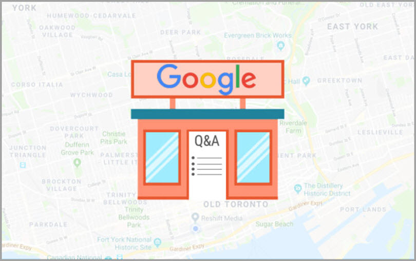questions and Answers for Google My Business features