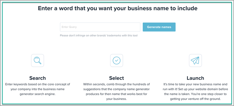 Business and Product Name Generation Tools for eCommerce tools