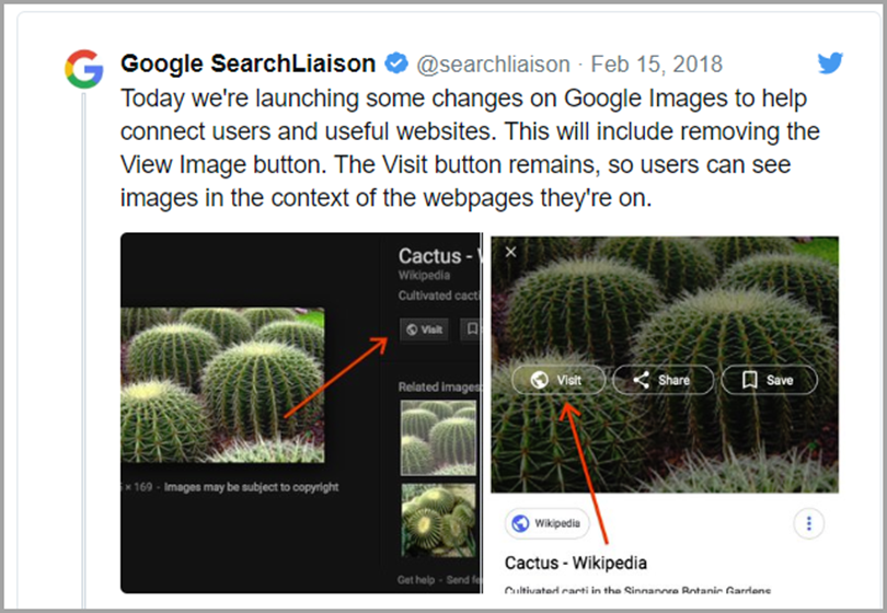 Confirmed Image Search Update for Google algorithm updates