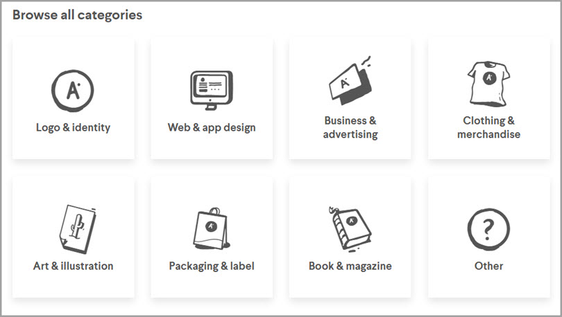 99Designs Categories