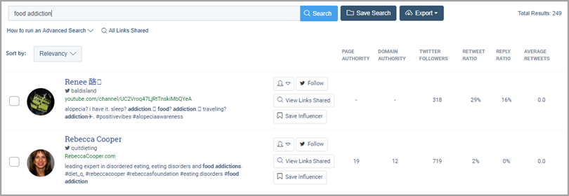 Buzzsumo for influencer marketing for solopreneurs