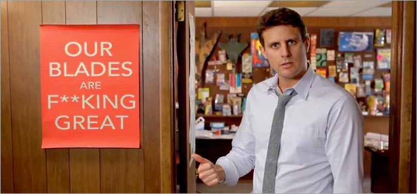 Dollar Shave Club for brand messaging