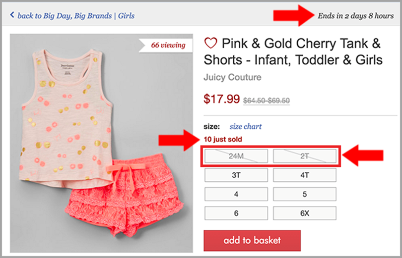 Employ Social Proofs to encourage customers to reduce shopping cart abandonment