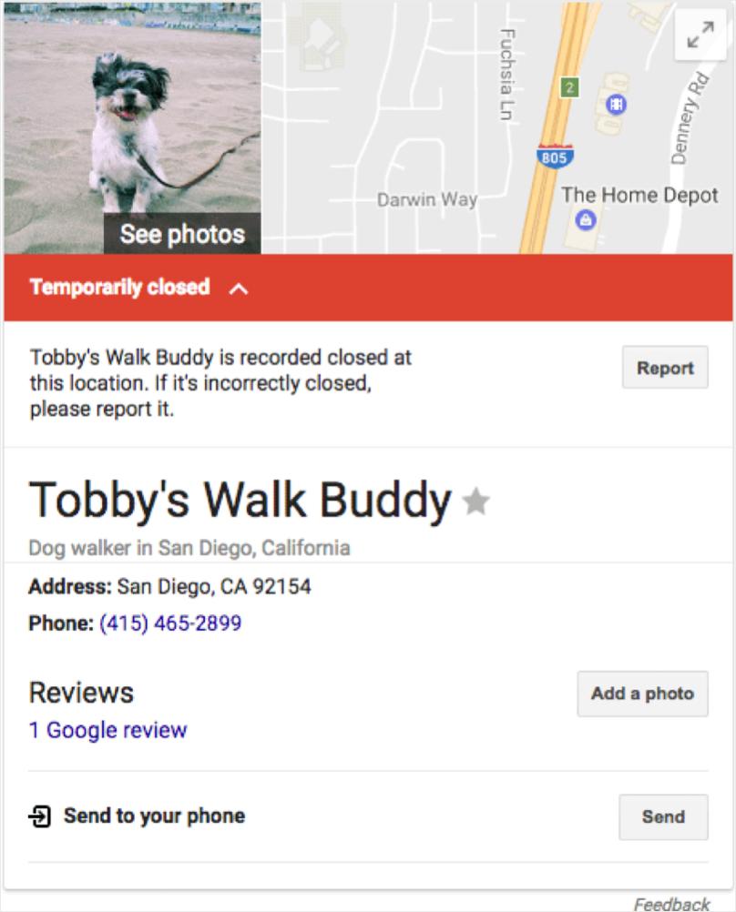 Google My Business Mistake - Image 2