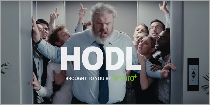 HODL by Etoro for basics of branding