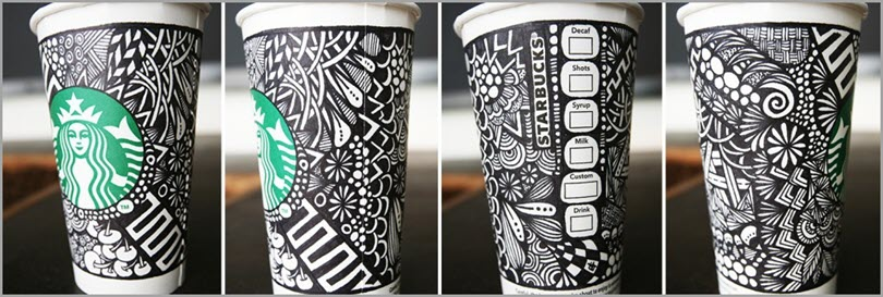 Starbucks cups for basics of branding