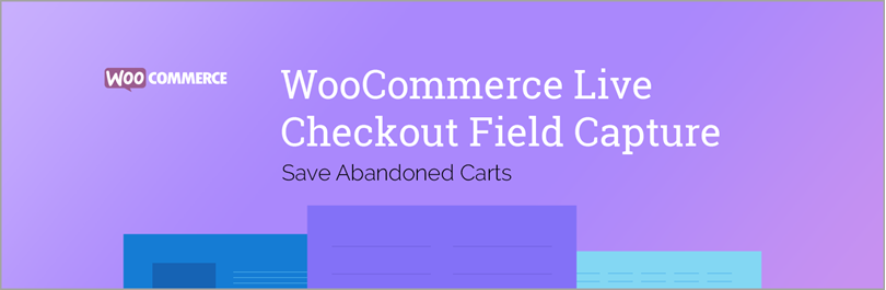WooCommerce Live Checkout Field Capture for woocommerce plugins