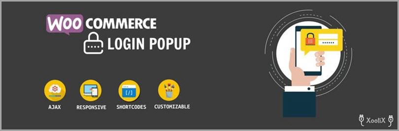 WooCommerce Войти Регистрация Popup для плагинов Woocommerce