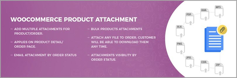 WooCommerce Product Attachment for Woocommerce plugins