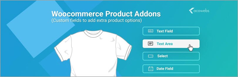 Woocommerce Product Addons for Woocommerce plugins