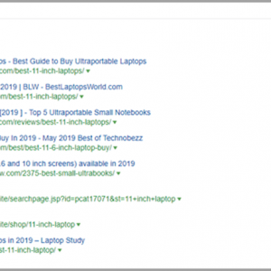 Ahrefs SERP analysis report for affiliate niche site - Jeffbullas's Blog